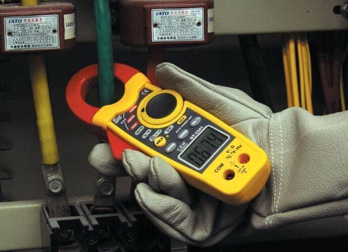 Измерение клещами тока