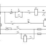 Схема динамического торможения асинхронного двигателя